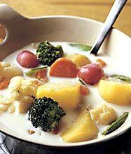 Ricetta Kesäkeitto (zuppa di verdure)