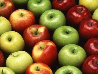 Ricetta Insalata di mele e soia