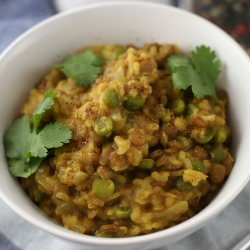 Ricetta Lenticchie e riso