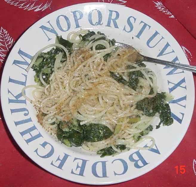 Ricetta Spaghetti terramare