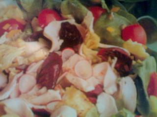 Ricetta Insalata mista con pollo