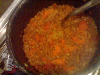 Ricetta Minestra di pasta e lenticchie