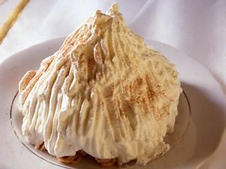 Ricetta Monte bianco  - variante 2