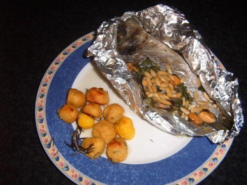 Ricetta Orata al cartoccio con verdure
