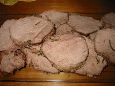 Ricetta Arrosto di vitello al forno