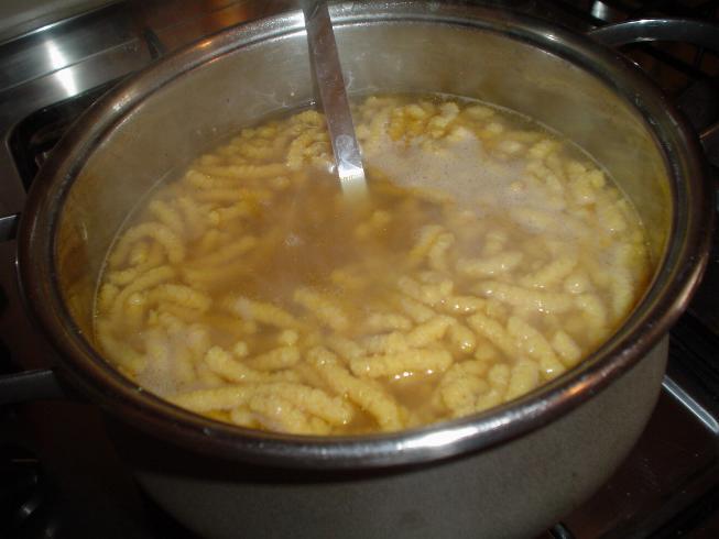 Ricetta Passatelli in brodo  - variante 2