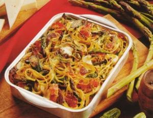 Ricetta Pasta al forno con melanzane e zucchine