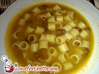 Ricetta Pasta e fagioli  - variante 10