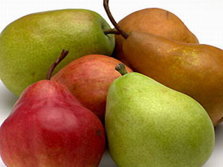 Ricetta Pears sweet brochettes