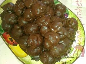 Ricetta Profiteroles al cioccolato  - variante 2