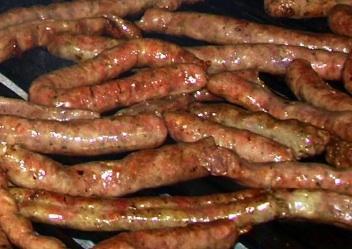 Ricetta Salsicce alla griglia