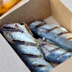 Ricetta Sardine alla griglia