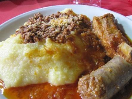 Ricetta Salsiccia con polenta