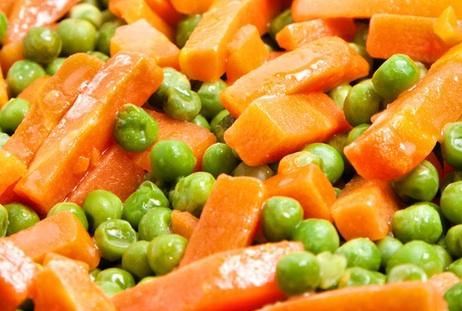 Ricetta Sformato di carote e piselli