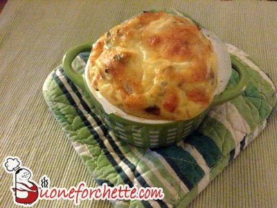 Ricetta Soufflé di parmigiano