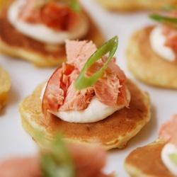 Ricetta Tartine al salmone  - variante 2