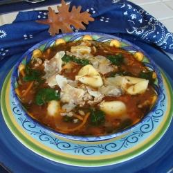 Ricetta Tortelli di castagne con fagiano