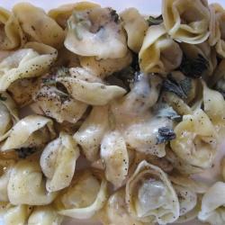 Ricetta Tortellini panna e olive