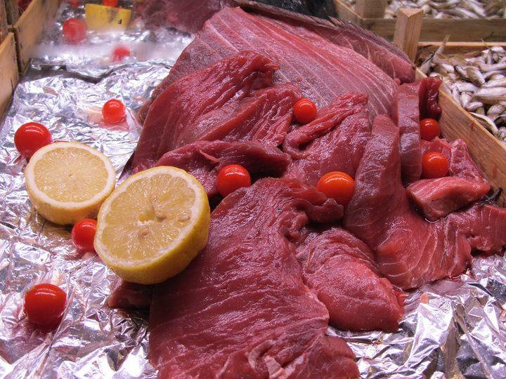 Ricetta Trance di tonno al forno