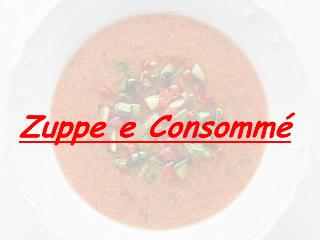 Ricetta Zuppa con bignè al capriolo