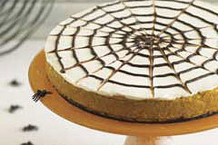 Ricetta Spiderweb Pumpkin Cheesecake