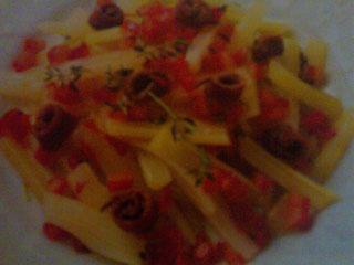 Ricetta Bastoncini di sedano all agrodolce con acciughe