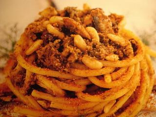 Ricetta Pasta con le sarde - antica ricetta