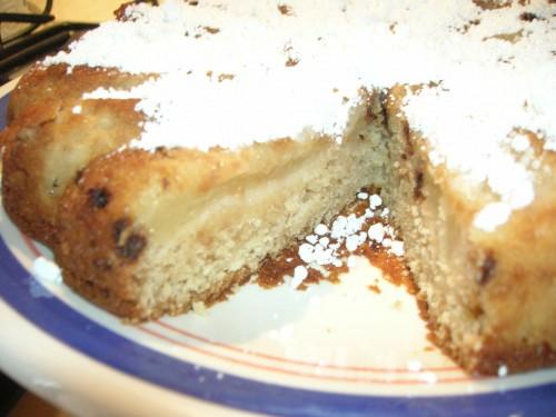 Ricetta Torta pere e cioccolato - vegana