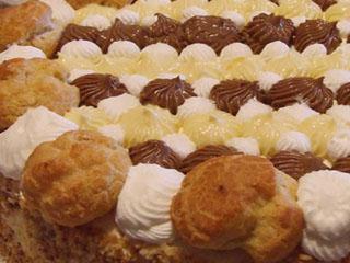 Ricetta Torta Saint Honoré di Natale