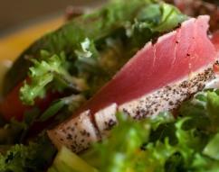 Ricetta Insalata tiepida di tonno con porcini e finocchi