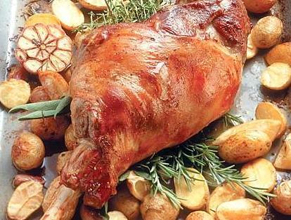 Ricetta Abbacchio al forno con aglio e limone