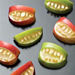 Ricetta Mele dentate di Halloween