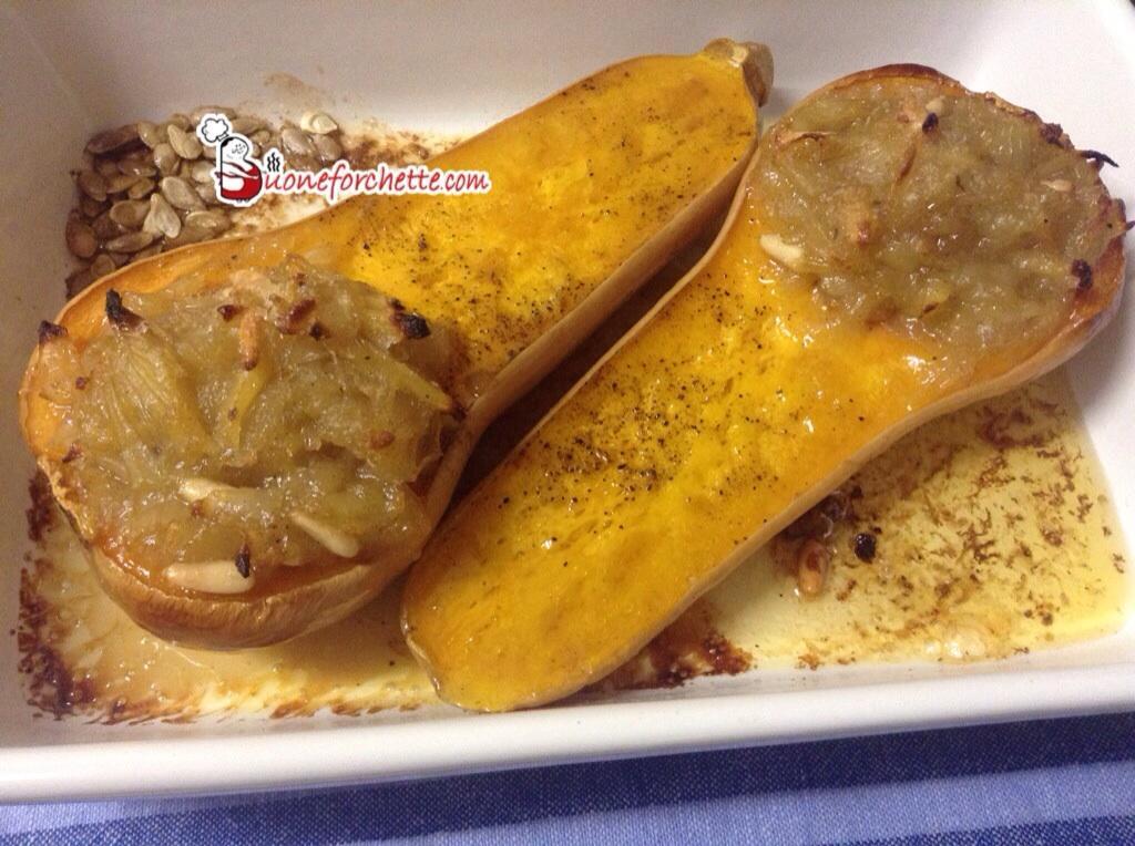 Ricetta Zucca gialla ripiena