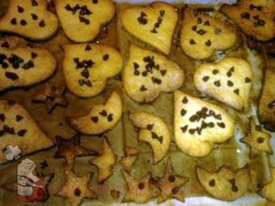 Ricetta Biscotti con gocce di cioccolato