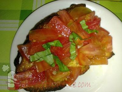 Ricetta Bruschetta al pomodoro
