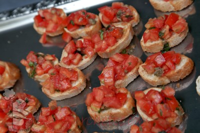 Ricetta Bruschetta al pomodoro  - variante 2
