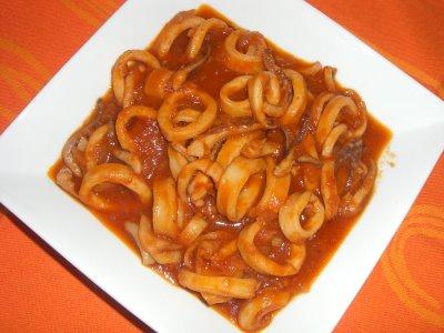 Ricetta Calamaretti all'anconetana