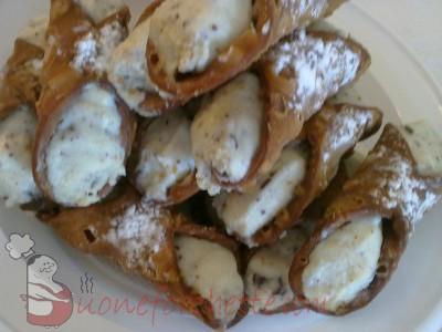 Ricetta Cannoli alla siciliana  - variante 3