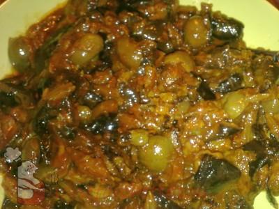 Ricetta Caponata di melanzane  - variante 2