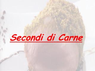 Ricetta Carpaccio alla toscana
