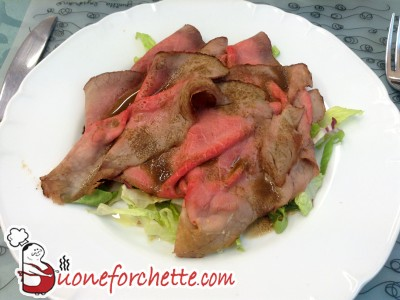 Ricetta Carpaccio di carne