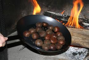 Ricetta castagne arrostite