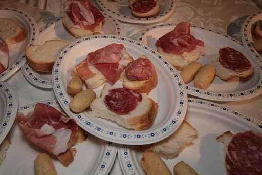 Ricetta Tartine al salame