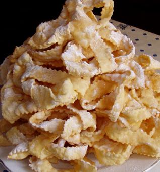 Ricetta Chiacchiere  - variante 3