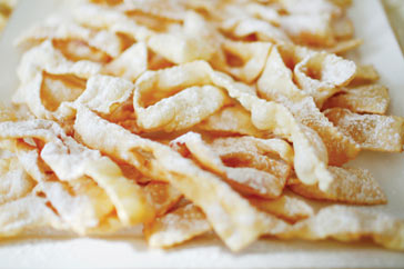 Ricetta Chiacchiere  - variante 6
