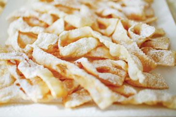 Ricetta Chiacchiere di carnevale  - variante 2