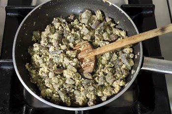 Ricetta Coratella d'abbacchio con i carciofi  - variante 2