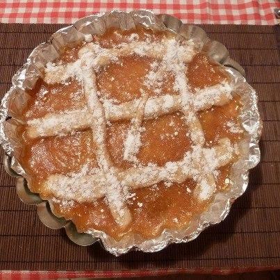 Ricetta Crostata di albicocche  - variante 2