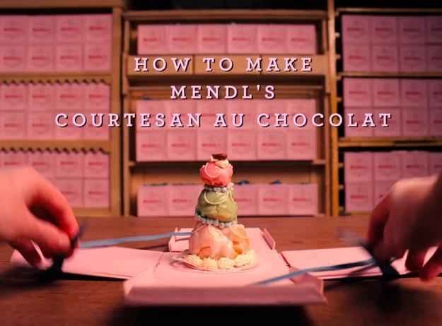 Mendl?s Courtesan au Chocolat