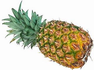 Ricetta Ananas con crema di banane